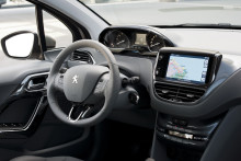 Peugeot 208 har fået pris for sin innovative touch-screen