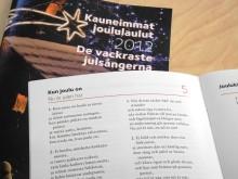 Ruotsinsuomalaisille omat Kauneimmat joululaulut