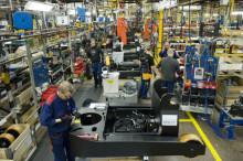 Rekordproduktion för Toyota Material Handling i Mjölby