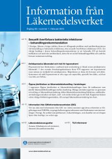 Information från Läkemedelsverket nr 1 2015