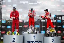 Tuffa finaldueller i RallyX-premiären i Skövde