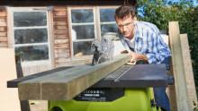 Snabb och exakt sågning med nya bordssågar från RYOBI
