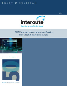 New Product Innovation Leadership Award Infrastructure-as-a-Service Europe, 2013