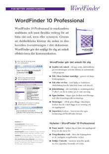 Wordfinder 10 Professional
