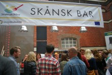 Ny skånsk öl lanseras i Smaka på Skånes dryckesbar på Älska Mat & Vin-mässan