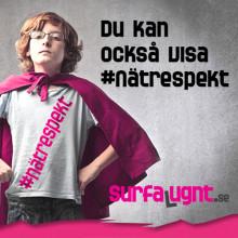 Telenor slår ett slag för kampanjen #nätrespekt