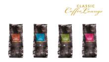 Classic Coffee Lounge – proffskaffe speciellt framtaget för kaffemaskiner med integrerade kvarnar.