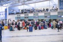 Stor ökning av flygresenärer från Landvetter
