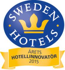 Sweden Hotels Gala 2015 - nomineringar Årets Hotellinnovatör 2015