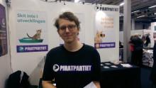 Bok och bibliotek: Piratpartiet - det enda partiet som vill prata kultur även efter valet