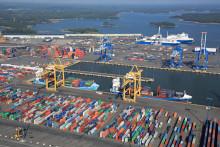 Helsingin sataman tavaraliikenne kasvoi syyskuussa