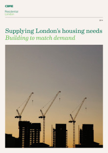 Supplying London's housing needs