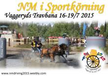 Kuskarna klara för NM i sportkörning