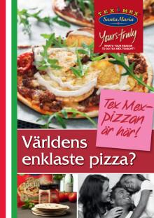 Recept Santa Marias pizza-nyheter