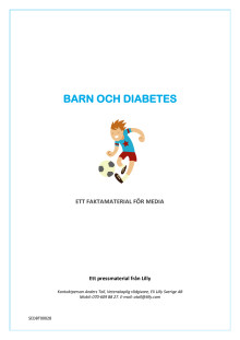 Faktamaterial - barn och diabetes