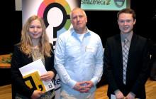 Riksutställningar skickar två Unga Forskare till Sandby borg
