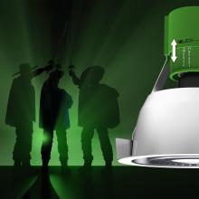 Fox Design presenterar Wila-Musketeer – armaturen med justerbar lamphållare. En världsnyhet!