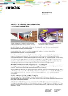 Inredia – ny arena för inredningsdesign