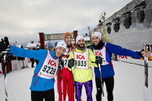 Öppet Spår 9 km – a miniature Vasaloppet