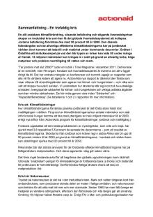 """Sammanfattning på svenska till """"On the brink"""""""