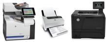 Hewlett-Packard lanserer nye multifunksjons-skrivere, skanner og laserskriver optimalisert for profesjonelle brukere.