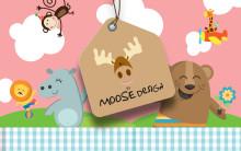 Gavesett for små sjarmtroll fra Moose Design.