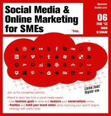 Breakfast Series: Social Media & Online Marketing Tips for SMEs