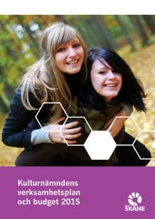 Kulturnämndens verksamhetsplan och budget 2015