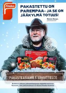 Findus mainoskampanja tammi-maaliskuu 2012!