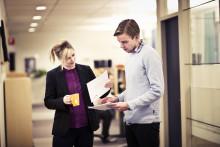 Arbetsgivare möter studenter på Exjobbsdag