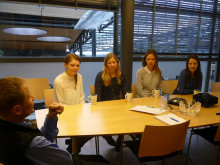 Kalasjaktens vinnare besökte AddBIO och lärde sig om framtidens medicinska implantat