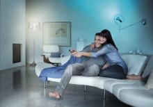 LivingAmbiance gör det möjligt att förvandla ditt rum tack vare belysningen