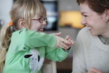 Enklare att sköta sina barns kontakter med vården via webben