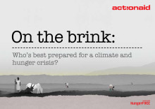 On the brink - Who's best prepared for a climate and hunger crisis