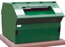Ny återvinningsstation på plats i Huvudsta
