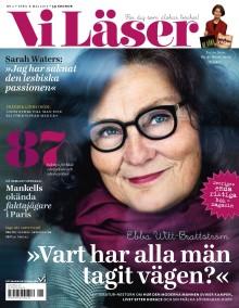 """Ebba Witt-Brattström i nya numret av Vi Läser: """"Det här är berättelsen om Kulturkvinnan. Och kulturmannen"""""""