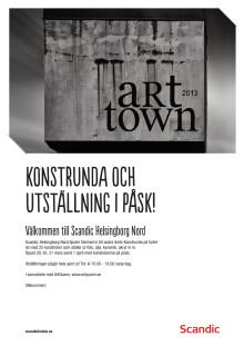 Konstrundan på Scandic Helsingborg Nord