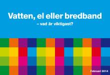 Höga krav på bredbandsleverantörerna – men låg kännedom om vad man själv kan påverka