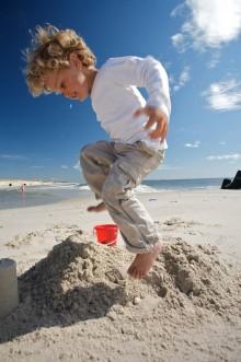 Für kleine Badenixen und Wassermänner - Meer Spaß auf Sylt