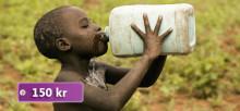 Bidra med vatten till Afrikas horn!