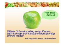 Presentation Enar Magnusson och Andreas Hedlund_Findus Matseminarium 11 april 2012