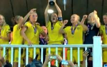 #31 –TISDAG: Svenskt EM-guld i fotboll – men ingen hyllning i Kungsan