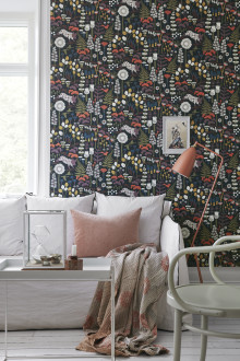 Boråstapeter introduces a new enchanted wallpaper collection with Hanna Werning