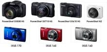 Fotografering uten grenser: Canon lanserer nye PowerShot- og IXUS-modeller