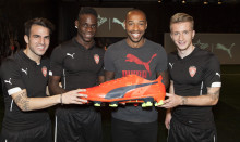 PUMA LAUNCHES evoPOWER AT INTERACTIVE FOOTBALL EVENT