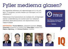 IQ i Almedalen 2015: Fyller medierna glasen?