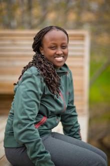 Olive Maitha blir Umeå universitets Global Swede
