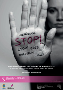 Våld i nära relationer - det finns hjälp att få
