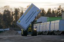 Miljövänlig tågtransport av biobränsle till kraftvärmeverket i Västerås