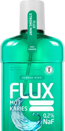 Ny fluorskölj i matbutiken: Starkare tänder med Flux Strong Mint